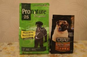 Первые покупки для щенка: Собачий корм