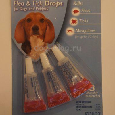 Средство обработки собаки для защиты от клещей Hartz