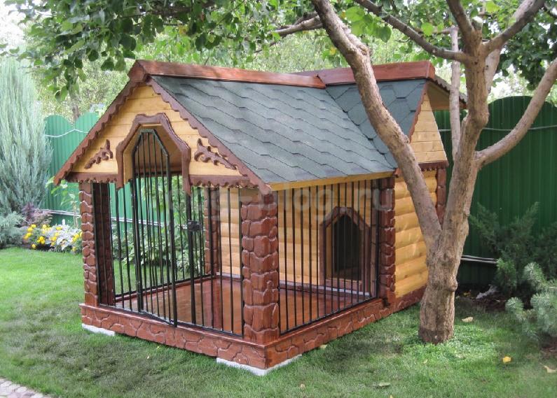 Красивые будки для собак своими руками фото
