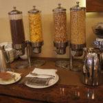 завтрак в отеле Boss