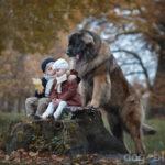 Фото-книга «Маленькие дети и их большие собаки»