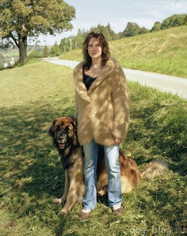Одежда из собачьей шерсти