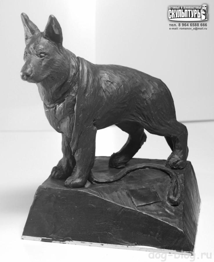 памятник собаке в Братске