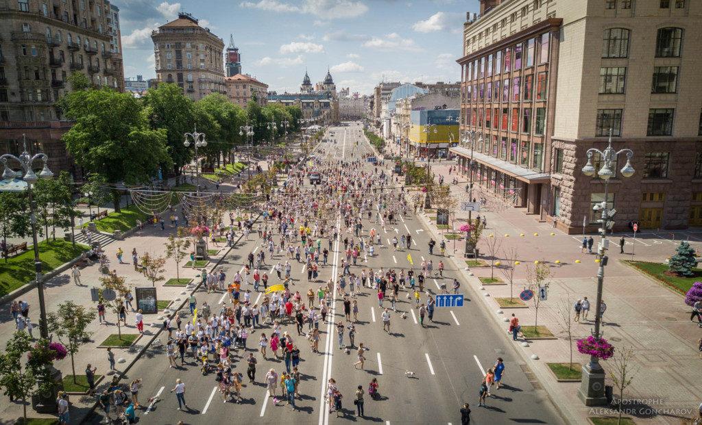 парад джеков в Киеве 2017