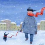 Художник Андрей Попов и цикл его работ «ПО-собачьи»
