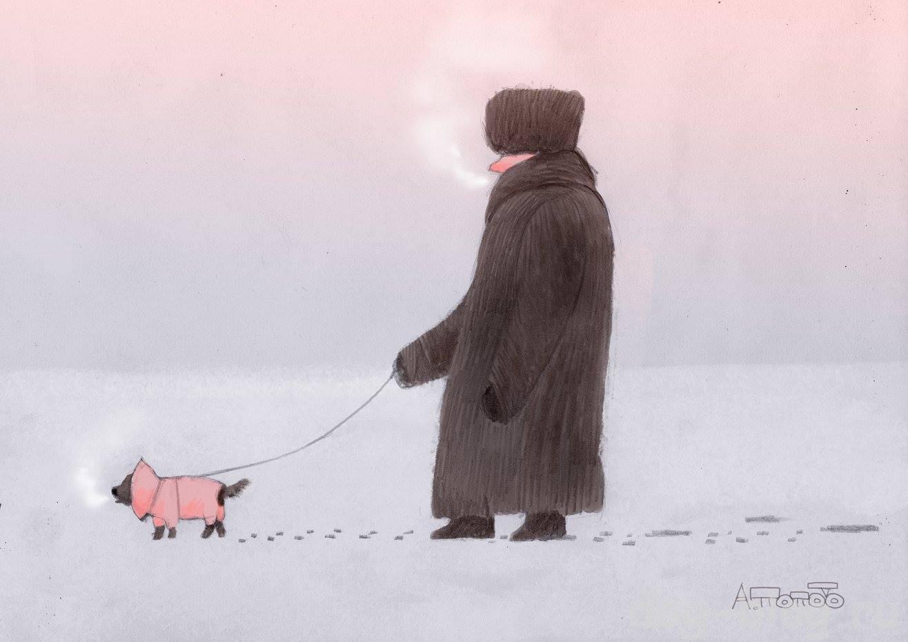 картинки Попова про собак
