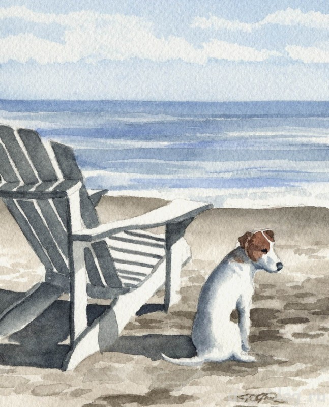 живопись и собаки