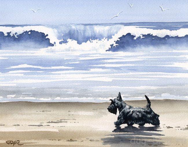 собаки на картинах