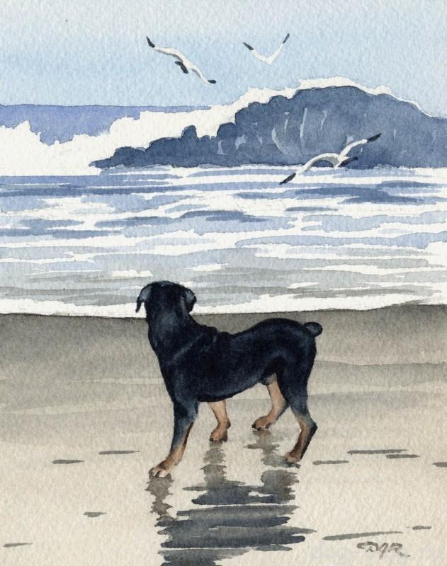 изображение собаки в живописи