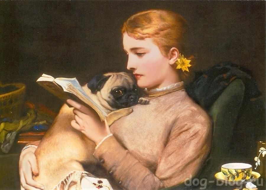Чарльз Барбер картины с собаками